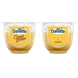 Sobremesa Danette duplo prazer baunilha