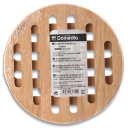 Base de madeira diâmetro 17,5 cm