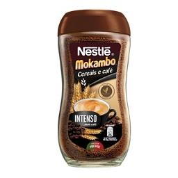 Bebida de cereais e café mokambo intenso
