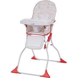 Cadeira Alta p/ Refeição Keeny Vermelha