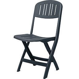 Cadeira Dobrável Antracite