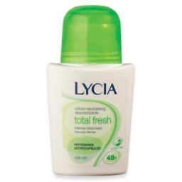 Desodorizante roll-on, total fresh