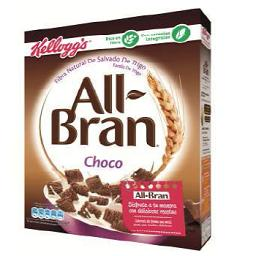 Cereais all-bran chocolate