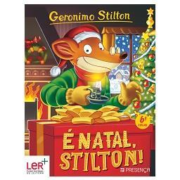 "Livro ""É Natal Stilton!"""