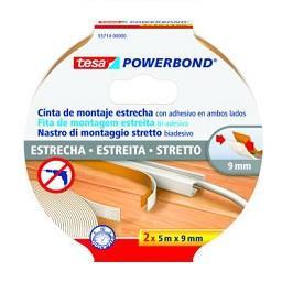 Fita bi-adesiva powerbond slim envoltório - 5m x 9 m...