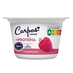 Iogurte corpos danone +proteína framboesa