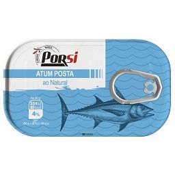 Posta de atum ao natural