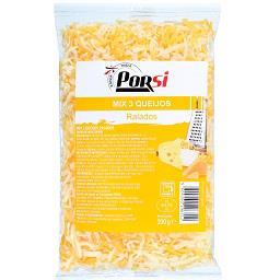 Queijo ralado mix 3 queijos
