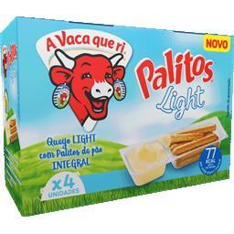 Queijo fundido vaca que ri palitos light 140g