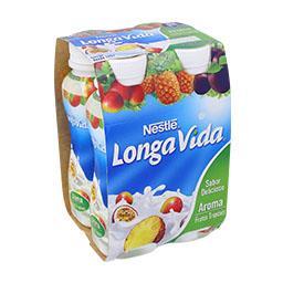 Iogurte líquido frutos tropicais