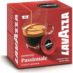Café em cápsula lavazza amm passionale 16un