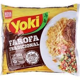 Farofa de mandioca temperada, 500 gr
