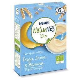 Naturnes bio papa inf bio lactea banana 240g