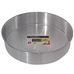 Forma tarte em alumínio 24 cm basic