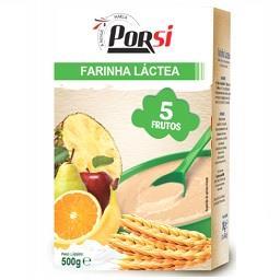 Farinha láctea 5 frutos
