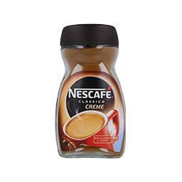 Café solúvel creme