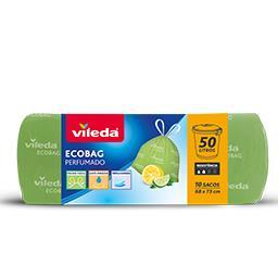 Ecobag 50 L perfumado limão