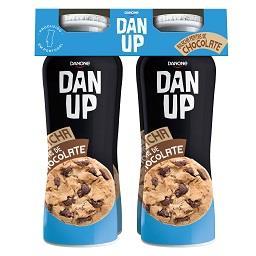 Iogurte liquido Dan'Up bolacha