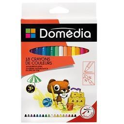 Lápis de cor 18 cm