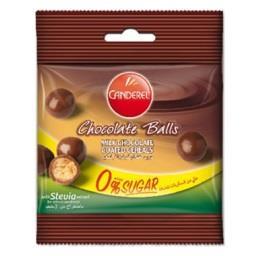 Bolas de chocolate com stevia