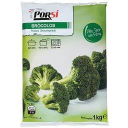 Brócolos congelados