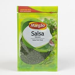 Salsa em folhas, pacote