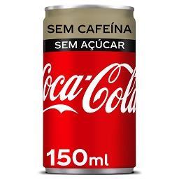Coca-cola zero sem cafeína
