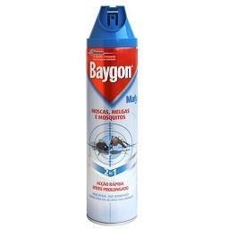 Inseticida aerossol moscas. melgas e mosquitos