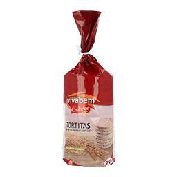 Tortitas de arroz com sal