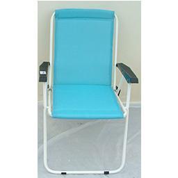 Cadeira de Cretone Azul