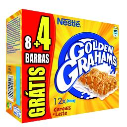 Barras Golden Grahams 8+4 grátris