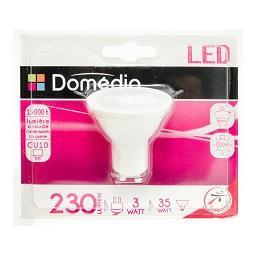 Lâmpada LED Refletora 3W GU10 220-240V