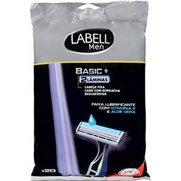 Máquina de Barbear Descartável Dupla Fixa c/ Gel