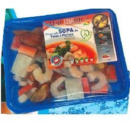 Preparado Sopa Peixe e Marisco s/Gluten