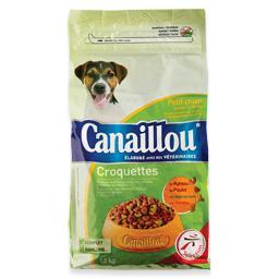 Alimento seco para cães pequenos, croquetes