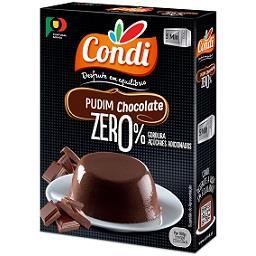 Pudim zero chocolate