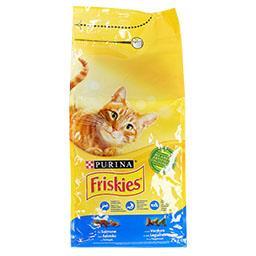 Ração para gato adulto com salmão e legumes
