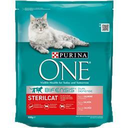 Ração para gato esterilizado com salmão