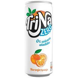 Refrigerante zero sem gás laranja