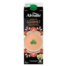 Alvalle gazpacho gourmet com amêndoas 1l