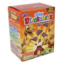 Bolacha infantil dinossaurus mini dino chocolate