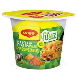 Maggi pasta c/ molho 12espec cup53g pt