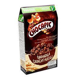 Granola de aveia chocapic