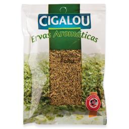 Folhas de tomilho, pacote