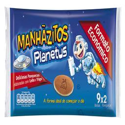 Manhãzitos® planetus 9x2 un.
