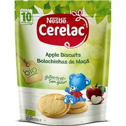 Bolachinhas bio para bebé maçã +10 meses