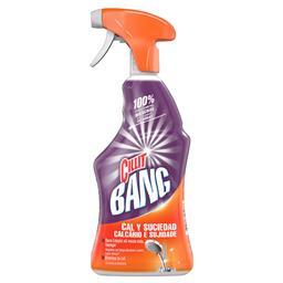 Spray calcário e sujidade