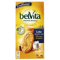 Belvita plain leite 300g