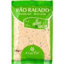 Pão ralado alho e salsa