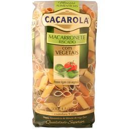 Macarronete riscado com vegetais 500 g